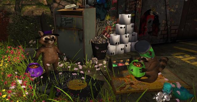 Trashy Pandas Treasure Trail