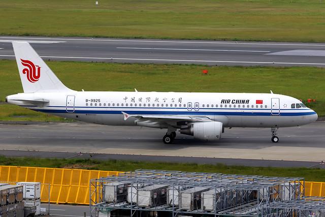 Air China | Airbus A320-200 | B-9925 | Tokyo Narita