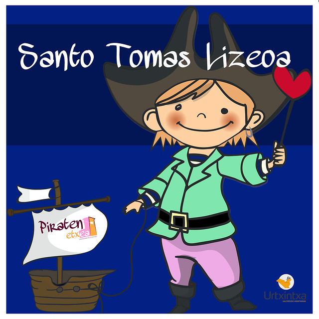 Pirata egonaldia- Santo Tomas Lizeoa 2019.10.10-2019.10.11