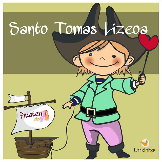 Pirata egonaldia- Santo Tomas Lizeoa 2019.10.03-2019.10.04