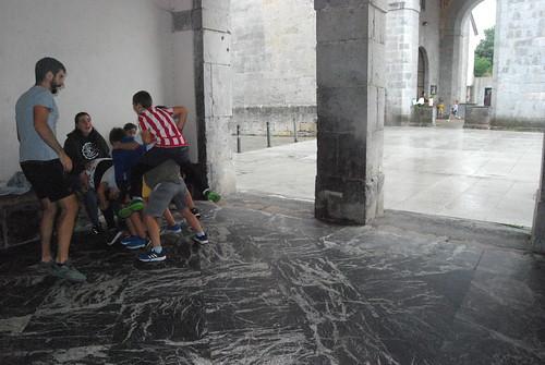 Aspaldiko Jolasak ezagutzeko ekintza, Aulestin