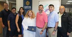 Rep. Carpino visits Cortiva Institute