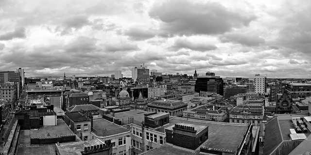 Glaswegian rooftops