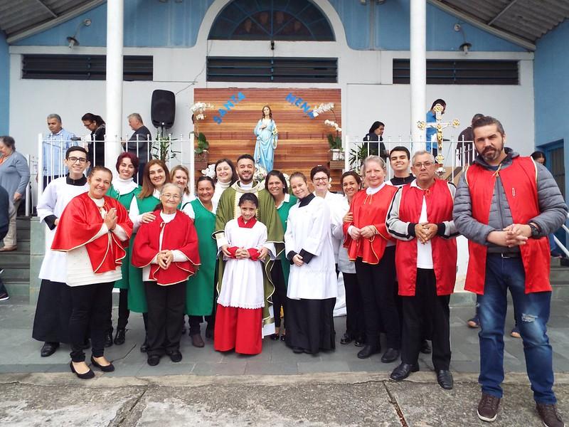 Paróquia Santa Mena celebra sua padroeira