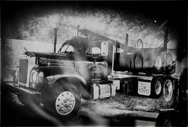 Old Logging Truck