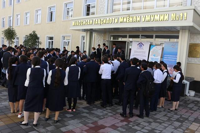 В столичной школе №11 прошла викторина по жилищным правам