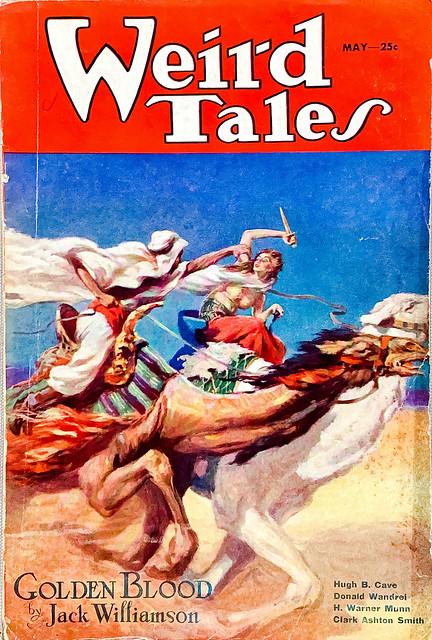 Weird Tales, Vol. 21, No. 5 (May 1933). Cover by J. Allen St. John