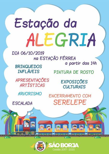 06/10/2019 Estação Alegria em São Borja