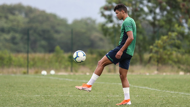 Treino do Fluminense - 07/10/2019