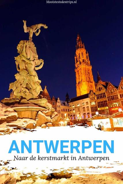 Kerstmarkt Antwerpen. Winter in Antwerpen, bekijk de tips | Mooistestedentrips.nl