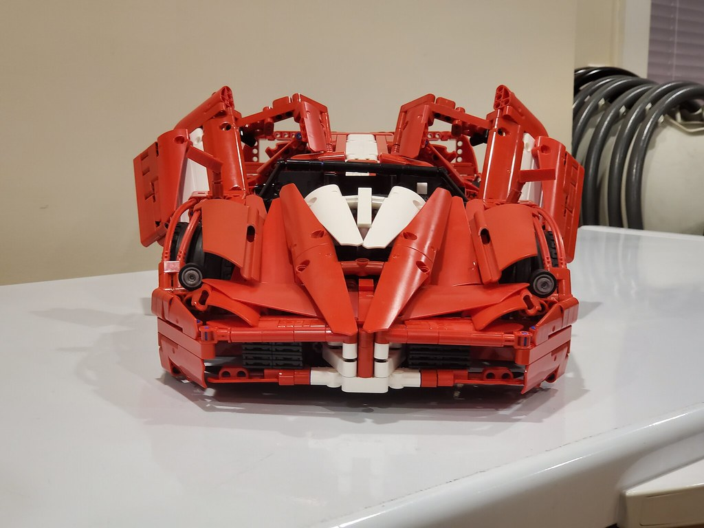 Ferrari Fxx 2005 1 8 New Version Lego Technic And Model Team Eurobricks Forums