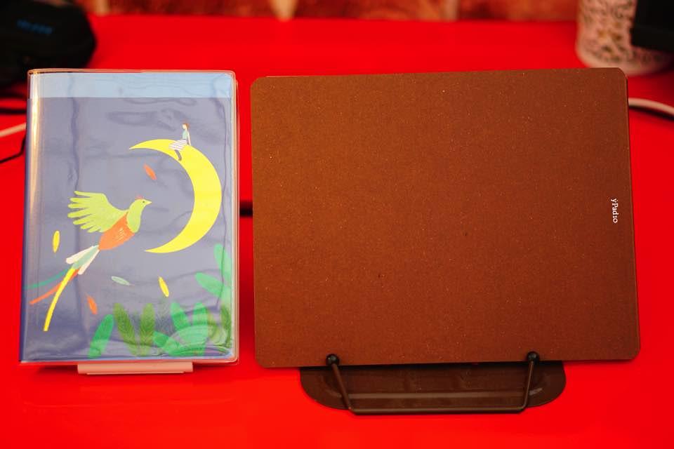 Ypadと手帳の大きさ比較