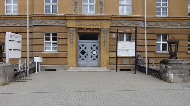 1925/26 Bad Freienwalde Portal expressionistisches Finanzamt Wriezener Straße 36 in 16259