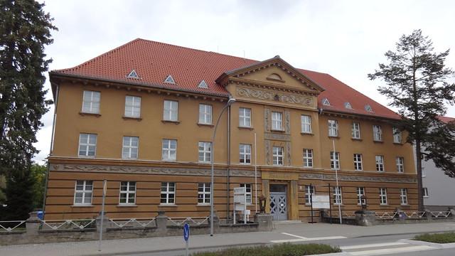 1925/26 Bad Freienwalde expressionistisches Finanzamt Wriezener Straße 36 in 16259