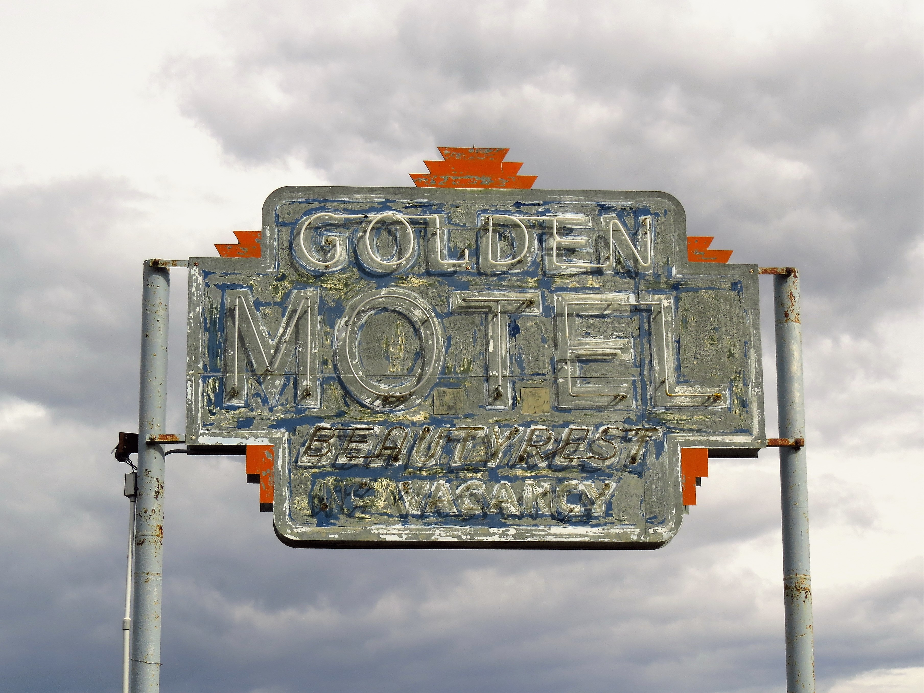 Golden Motel - Valmy, Nevada U.S.A. - May 24, 2019