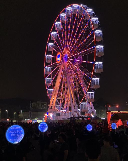 Ferris Wheel, Rock in Rio 2019.
