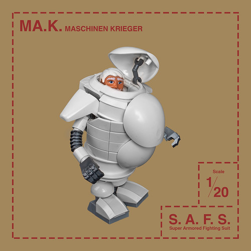 Mech Monday #40: S.A.F.S. – Maschinen Krieger