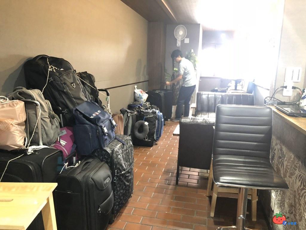 日本寄放行李價格