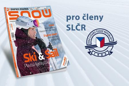 Předplatné SNOW pro členy Svazu lyžařů ČR
