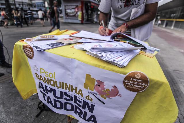[17.04.2019] Banquinha Niterói - Aposentadoria