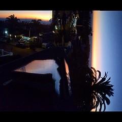 Dripping Skylight in Twilight