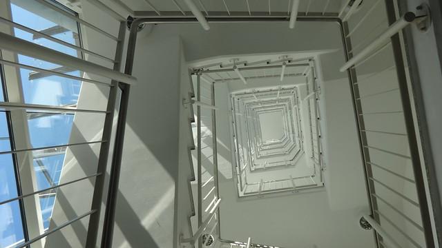 1997 Berlin Treppenauge Geschäftshaus Allee der Kosmonauten 33d-g in 12681 Marzahn
