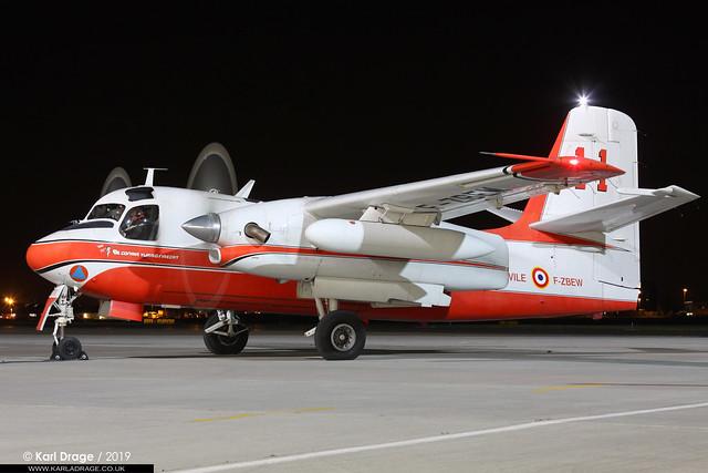 F-ZBEW - Grumman TS-2A / Conair Turbo Firecat - Securite Civile