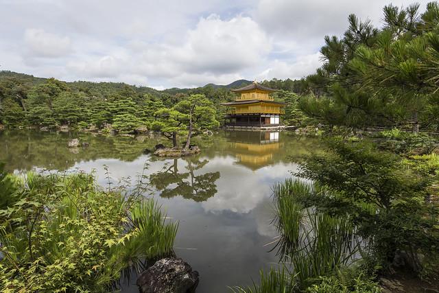 Kinkaku-ji temple in Kyoto