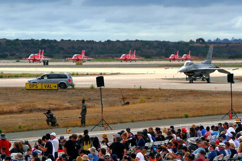IMG_5184 RAF Red Arrows