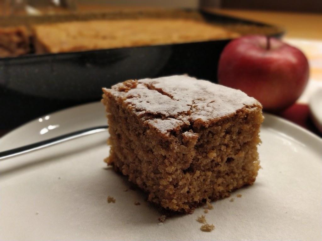 Becherkuchen mit Buchweizen, Kokos und Apfel