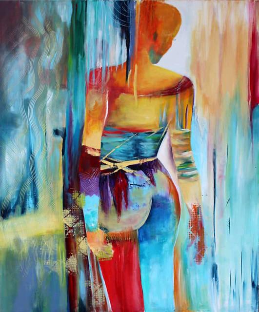 ליזה ברדוגו  liza bardugo ציירת ישראלית עכשווית מודרנית האמנית העכשווית המודרנית מופשט  ציורים מופשטים ציור צבעונים צבעוני בצבע בצבעים אבסטרקט אבסטרקטים
