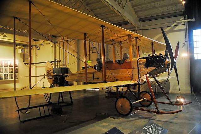 BE2 Biplane