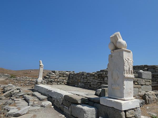 deux statues Délos