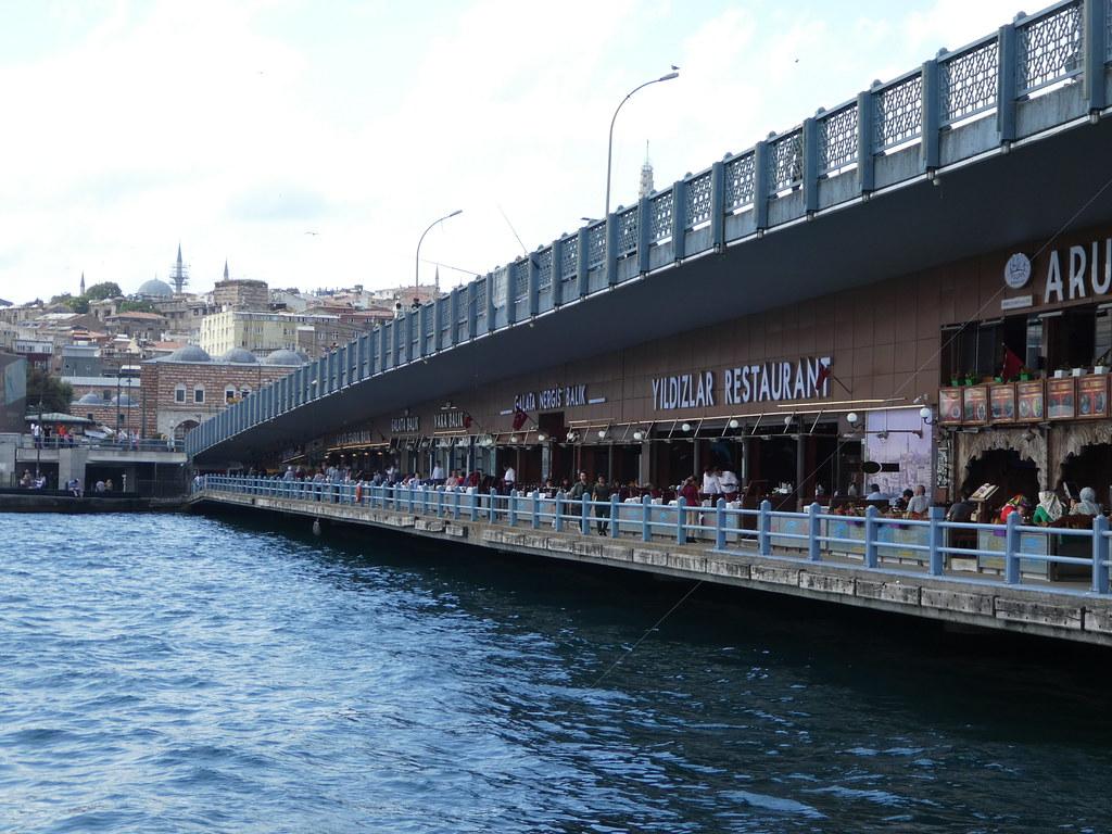 Galata Bridge, Eminönu, Istanbul