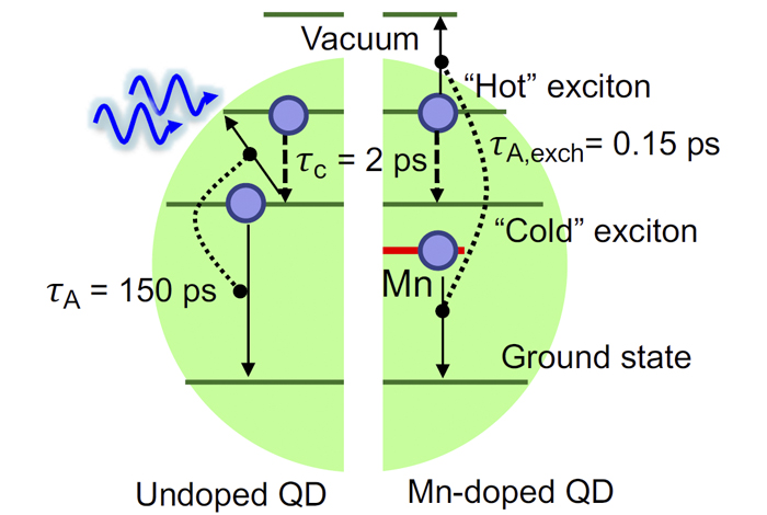 Modified quantum dots capture more energy