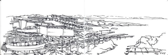 Es Pou des Verro. Formentera. Costa de tramuntana