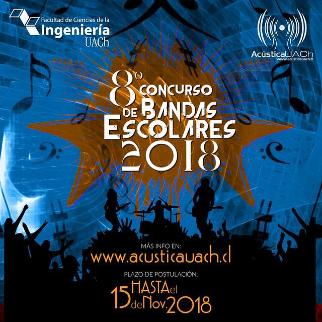 8° Concurso de Bandas 2018
