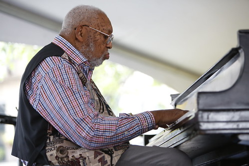 Ellis Marsalis at Satchmo Summer Fest 2019. Photo by Michele Goldfarb.