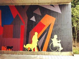 Streetart under the bridge @ Oude Baan Leuven | by Kristel Van Loock