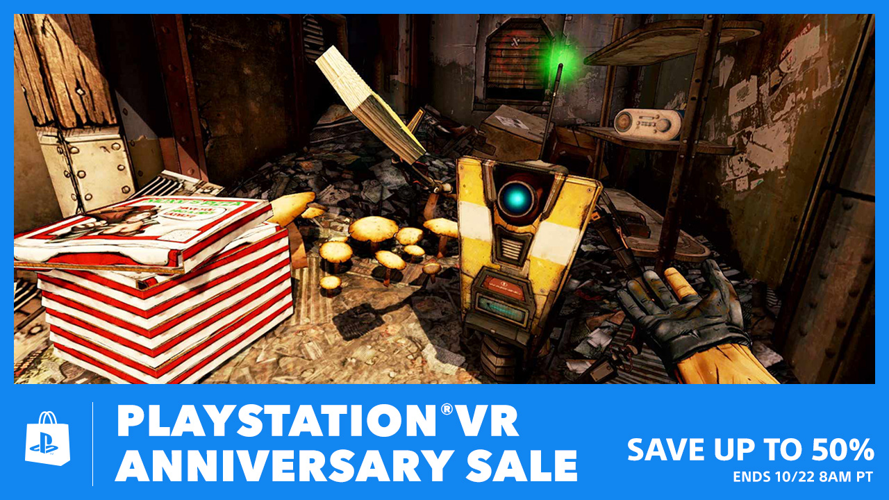 PS VR Anniversary Sale