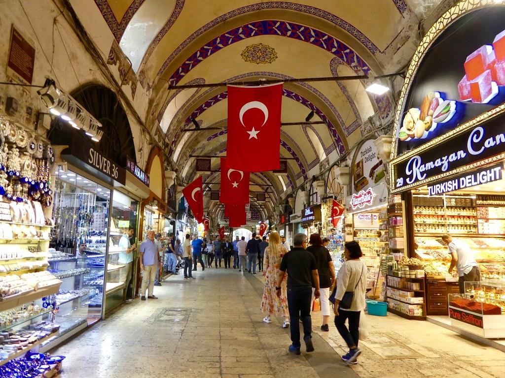 Exploring the Grand Bazaar, Istanbul