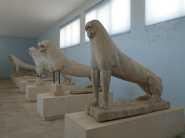 les lions du Musée