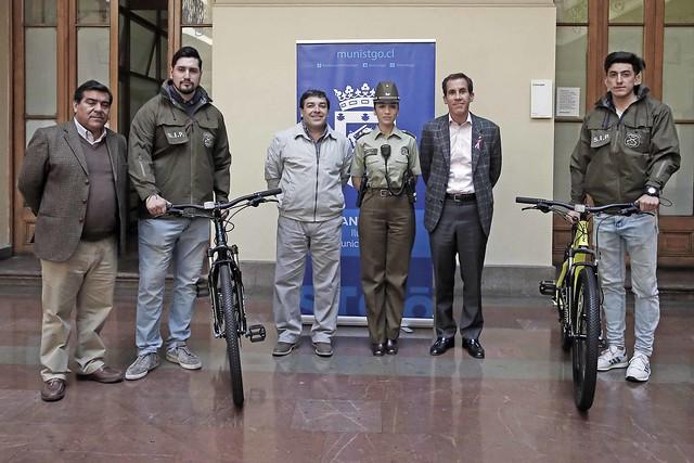 Donación de Bicicletas a Carabineros