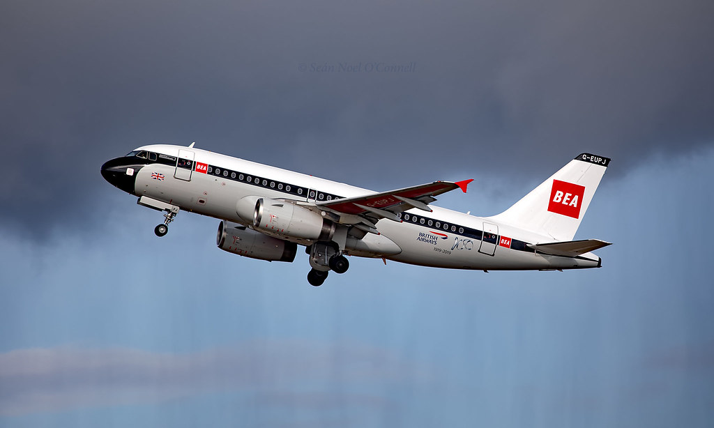 G-EUPJ - Airbus A319-131 - LHR