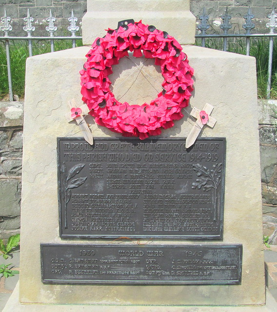 Dundrennan War Memorial Dedications