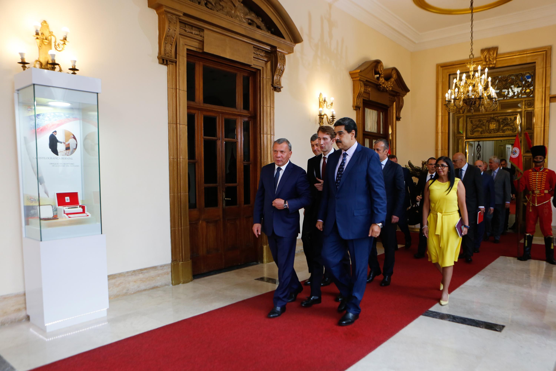 Presidente Nicolás Maduro: Venezuela cuenta con la asesoría de Rusia para ganar la batalla económica