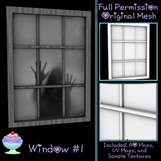 [Sherbert] Window #1 Ad - New Group Gift