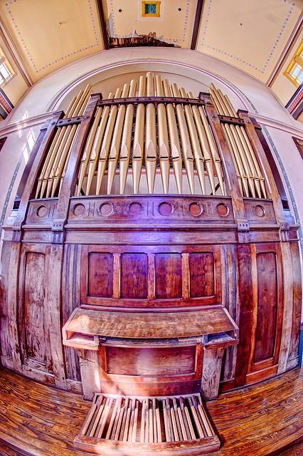 Abandoned Organ Orchard Street Methodist Church