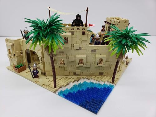 Aladdin-Streets of Agrabah Moc