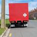 Red Truck, Jutland St., Dunedin, New Zealand, 1.30 PM Sun. 6 Oct. 2019